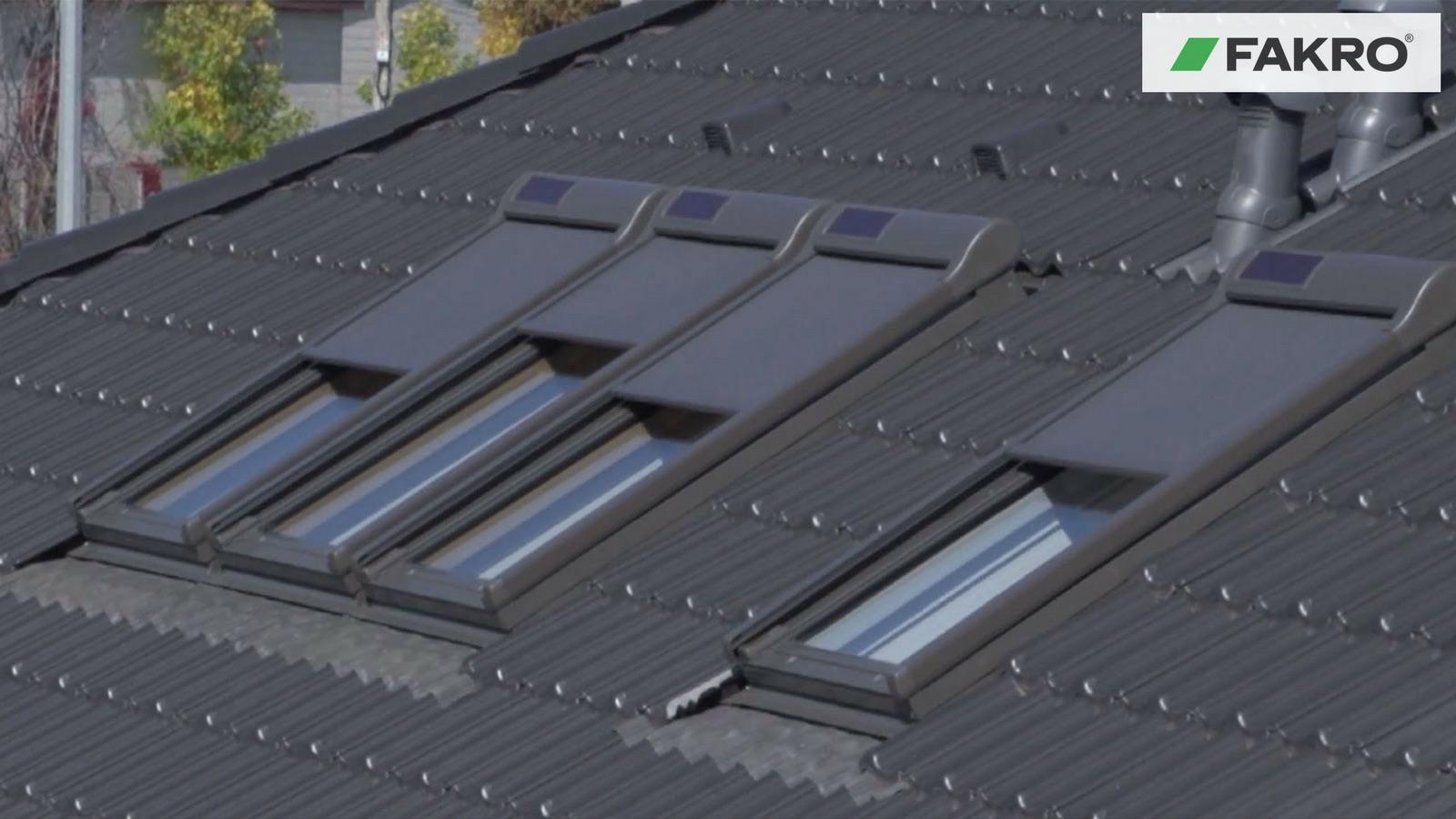 FAKRO Rulou Exterior parasolar AMZ Solar