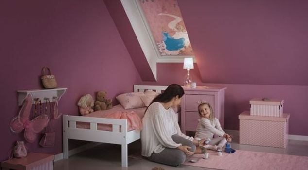 Disney Velux rulou opac camera copii