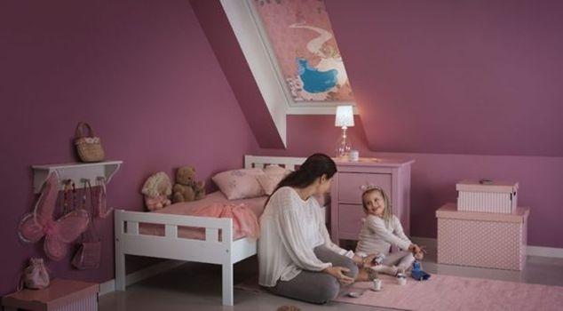 Disney Velux rulou opac camera copii